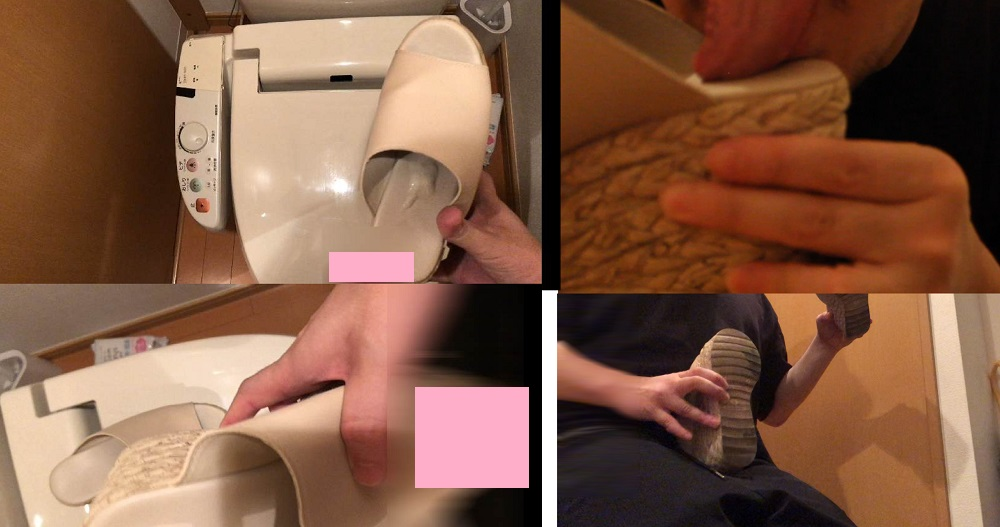 【靴ぶっかけ】S級ギャルのヒールサンダルの匂いと味を堪能してぶっかける