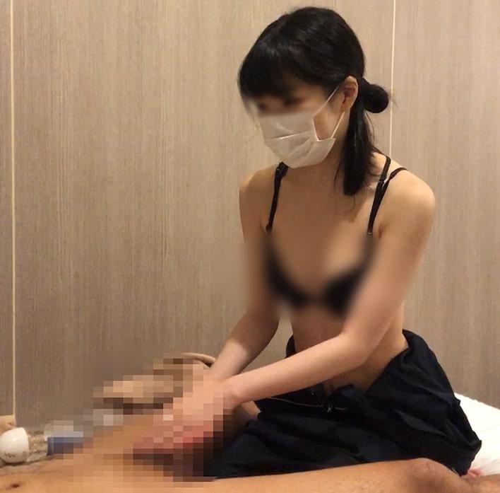 出張ローション手コキ隠し撮り・ブラ見せオプション【佐古(22歳)2回目】